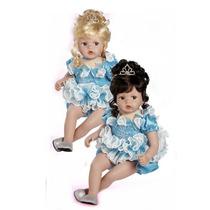 Boneca Princesa Criança Realista Tipo Reborn E Adora Dolls