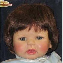 Ronny Boneco Bebê Realista Tipo Reborn Silicone Adora Dolls