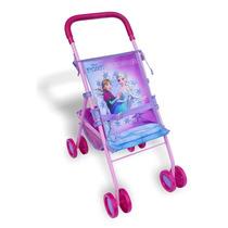 Carrinho De Boneca Frozen Bebê Passeio Original Criança