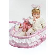 Oferta Molly Boneca Bebê Tipo Reborn Enxoval Pronta Entrega