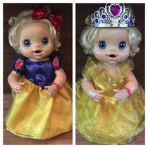 Baby Alive Roupas Princesas