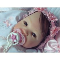 Bebê Reborn Brunna-pronta Entrega- Super Promoção !!