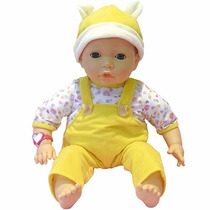 Boneca Com Emoções Roupa Amarela - Multikids