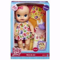 Boneca Baby Alive Hora Do Xixi Da Hasbro - Original
