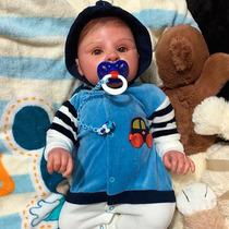 Bebê Reborn Que Parece De Verdade - Alfredo