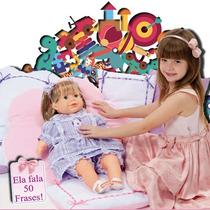 Boneca Yasmin - Fala 50 Frases - Adijomar Brinquedos