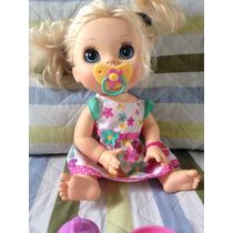 Baby Alive Comer E Brincar Perfeita Fala Em Português .