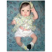 Vendo Bebê Reborn Camila Com Placa De Barriga