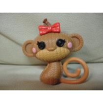 Brinquedo Macaco Pet Boneca Doll Bebe Lalaloopsy Lacinho