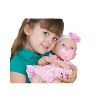 Boneca Baby Ninos Igual Bebê De Verdade Com Chupeta