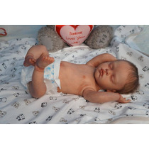 Boneca Bebê Reborn Sarah Corpo Inteiro Vinil Siliconado