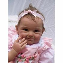 Bebê Reborn Importada Boneca Realista Silicone Barato Linda