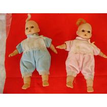 Bebês Antigos 2 Bonecos Menina E Menino Promoção
