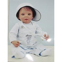 Boneca Bebê Reborn Inteiro Em Silicone Grátis Pronta Entrega