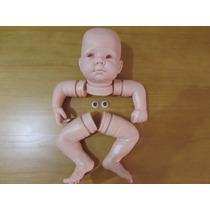 Kit Bebe Reborn Molde Hanna +olhos