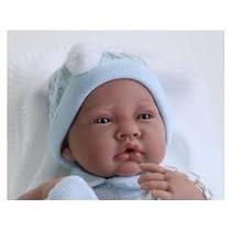 Boneca Tipo Reborn Bebe Realista Bebe Menino