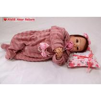 Bebê Boneca Reborn Molde Nacional Tatá