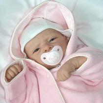 Bebe Reborn Barata Boneca Linda Sara Detalhes Muito Reais