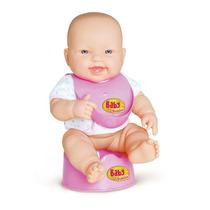 Boneca Baby Junior Faz Xixi - Cotiplás Super Oferta
