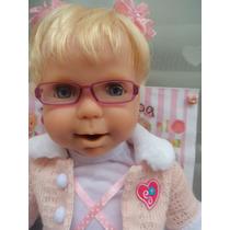 Boneca Reborn Relíquia Miracle Baby Alive Som Diferente