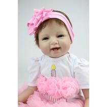 Promoção! Boneca Bebe Reborn Detalhes Reais