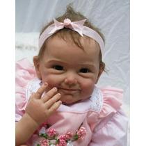 Bebê Reborn Silicone Real 55 Cm Boneca Baby