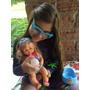 Boneca Bebe Que Fala E Faz Xixi Estilo Praia Com Acessórios
