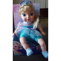 Boneca Frozen - Elza - Canta A Musica- Importada
