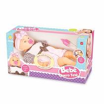 Boneca Bebê Fala Quero Chupeta Mamadeira E Faz Manha Linda