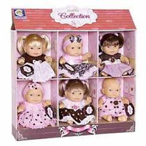 Boneca Dolls Collection Display Com 6 Bonecas - Cotiplás