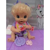 Boneca Baby Alive Linda Surpresa -fala Português!