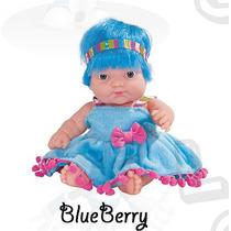 Coleção Frutinhas - Boneca Com Essência De Blueberrys