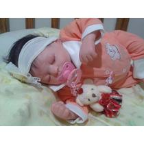 Linda Boneca Bebê Reborn Em Promoção + Acessórios!!!