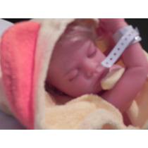 Boneca Bebê Reborn Corpo Vinil Siliconado Maria Eduarda