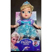 Boneca Bebê Frozen - Elza - Canta A Musica- Importada