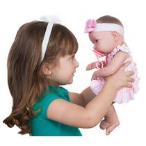 Boneca Ninos Baby Belo Parece Bebê De Verdade Rostinho Macio
