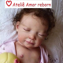 Bebê Boneca Reborn Com Corpo Inteiro De Vinil Siliconado