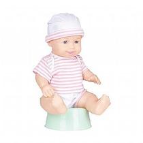 Boneca Baby Pum Com Penico Baby Brink 1593 Solta Pum