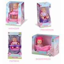 Boneca Bebê Miudinha Diver Toys - 4 Modelos P/sua Escolha