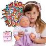 Boneca Para Reborn Baby Aninha-adijomar Brinquedos-promoção
