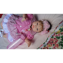 Boneca Bebê Reborn Pietra Por Encomenda