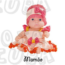 Coleção Frutinhas - Boneca Com Essência De Mamão