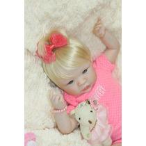 Boneca Bebê Reborn Tiara
