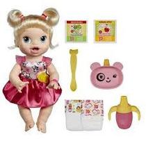 Boneca Bebê Baby Alive Hora De Comer Loira - Hasbro