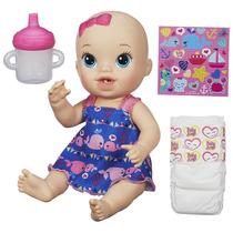 Boneca Baby Alive Loira Hora Do Xixi Náutica A9290 - Hasbro