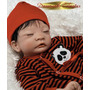 Panda Boy Menino Bebê Reborn Asiático Japonês Parece Verdade