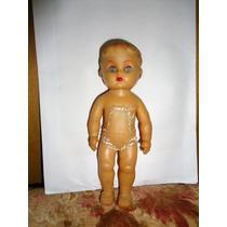 Boneco De Borracha Antigo Da Estrela - Brinquedo De Nenê