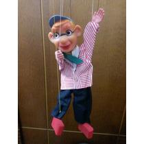 Vintage - Antigo Marionete Inglaterra Barnsbury Puppet