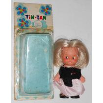 Boneca Tin-tan 8cm Espanha Famosa C/embalagem Original Compl