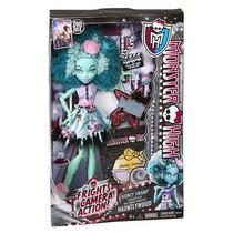Boneca Mattel Monster High Honey Swamp Camera Action
